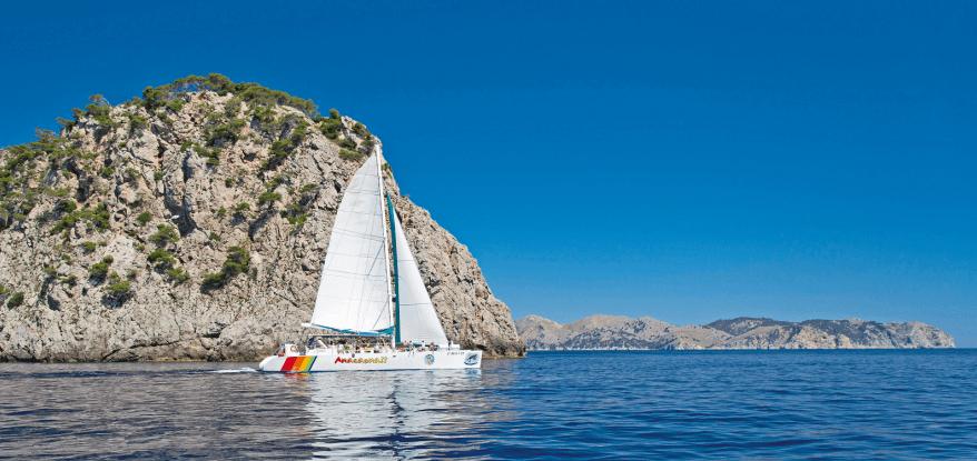 excursiones en barco desde alcudia